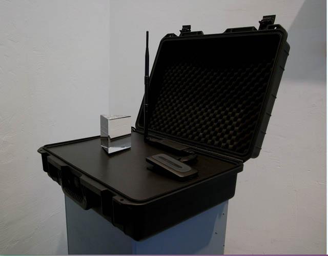 Military grade casing containing equipment