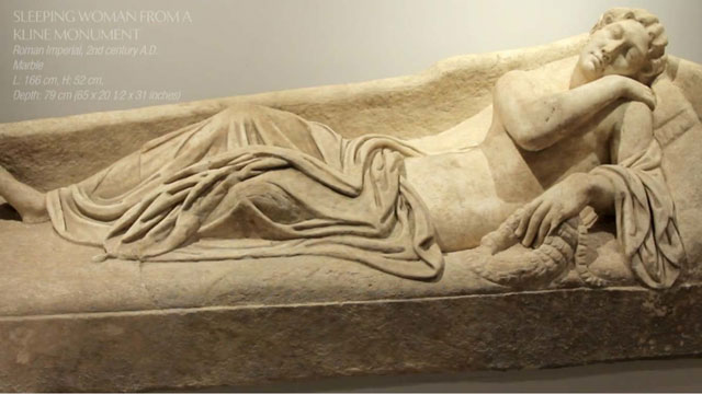 The stolen sarcophagus (image courtesy United States Attorney's Office)