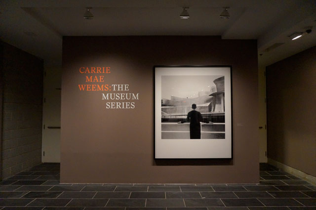 """Installation view, """"Carrie Mae Weems: The Museum Series,"""" the Studio Museum in Harlem (photo by Jillian Steinhauer for Hyperallergic)"""