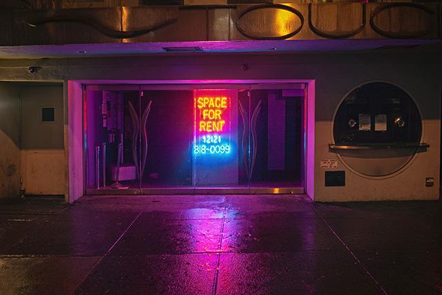 """Lynn Saville, """"Space for Rent, NY, NY"""""""