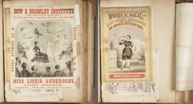 "Houdini's ""Magicians scrapbook"" (1821-1939)"