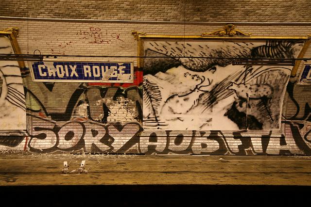 Croix Rouge Ghost Station (photograph by Vincent Desjardins, via Flickr)