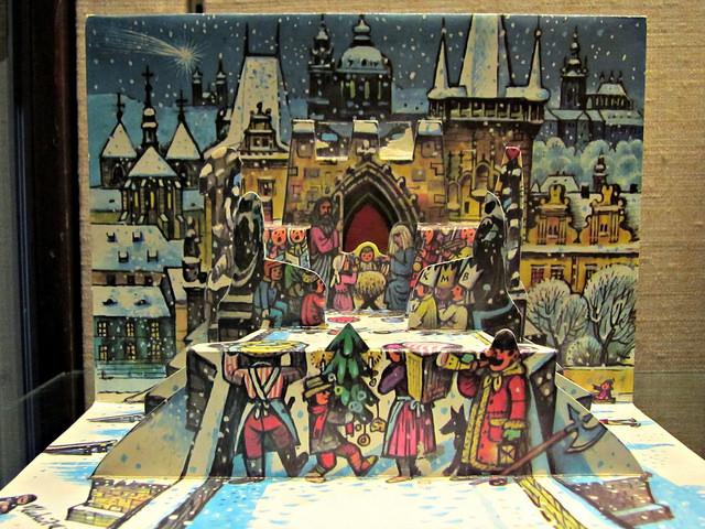 A nativity scene