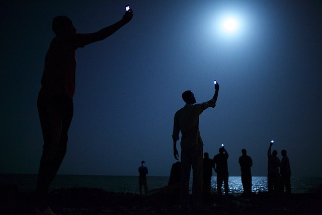 The 2014 World Press Photo of the Year John Stanmeyer/VII Photo Agency for National Geographic