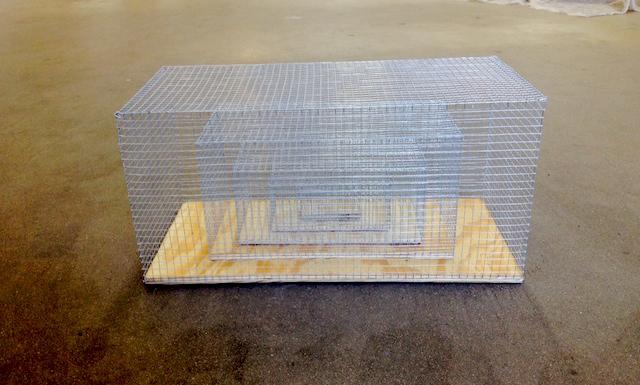 """Dan Finsel, """"affective memory cage"""" (2014)"""