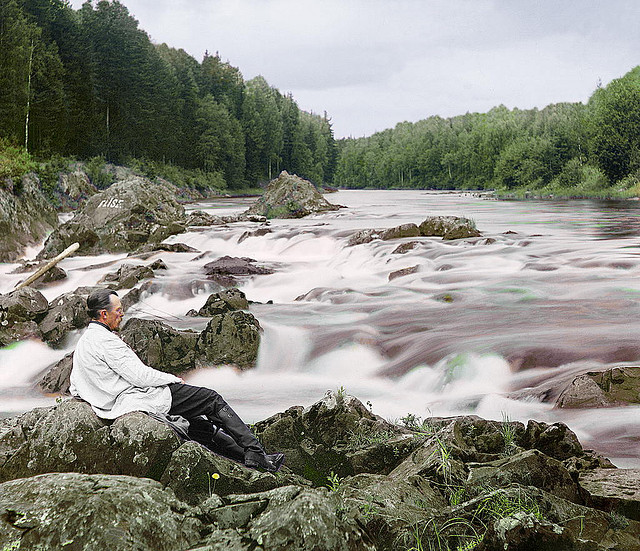 Every few months another publication seems to discover the hauntingly beautiful images by Sergey Prokudin-Gorsky, who was a pioneer of color photography. Do yourself a favor and peruse this Flickr account with images, and this past week the Daily Mail also excavated some.