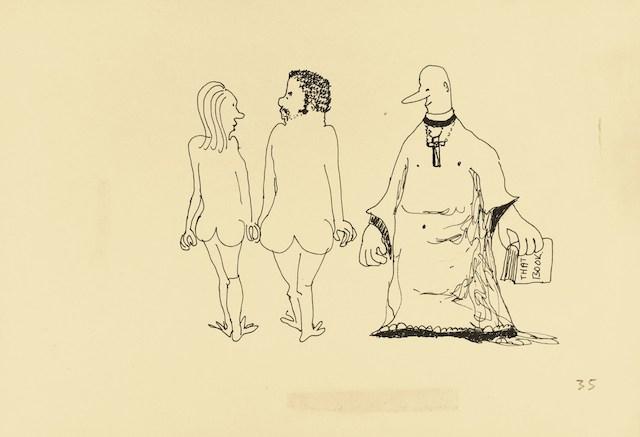9156 vicar gazing at a naked couple