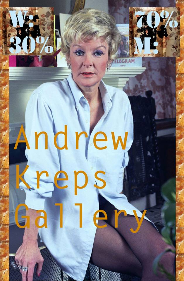 Kate Vida's posted for Andrew Kreps Gallery (click to enlarge)