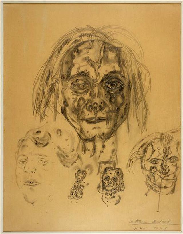 Artaud Antonin, Autoportrait 11 mai (May 11 Selfportrait) (1946)