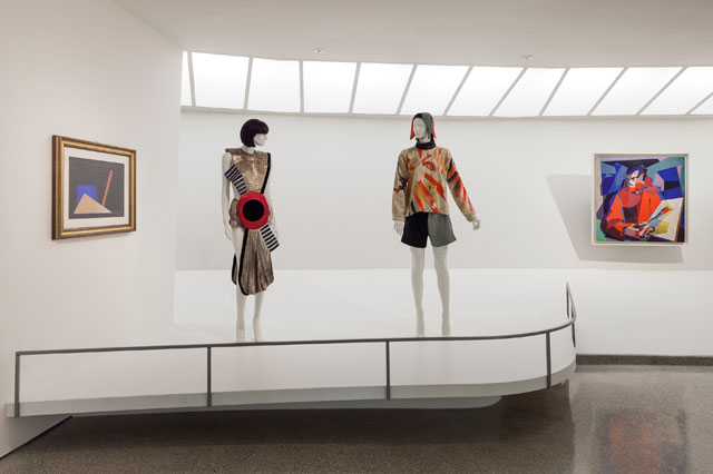 "Installation view, ""Italian Futurism, 1909–1944: Reconstructing the Universe,"" Solomon R. Guggenheim Museum, New York, February 21–September 1, 2014 (photo by Kris McKay) (© SRGF)"