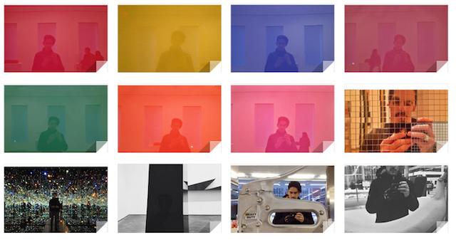 Luis' selfie investigations