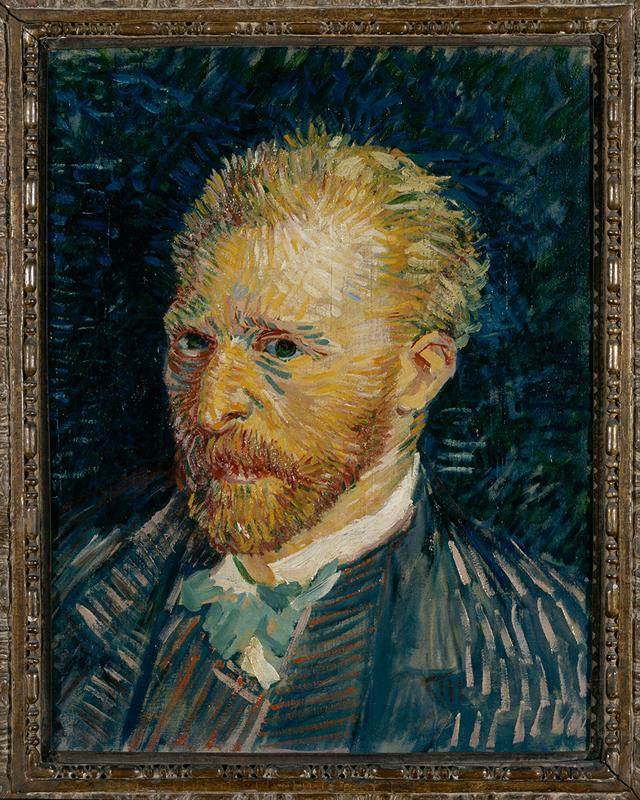 """Vincent Van Gogh, """"Self-portait"""" (1889)"""