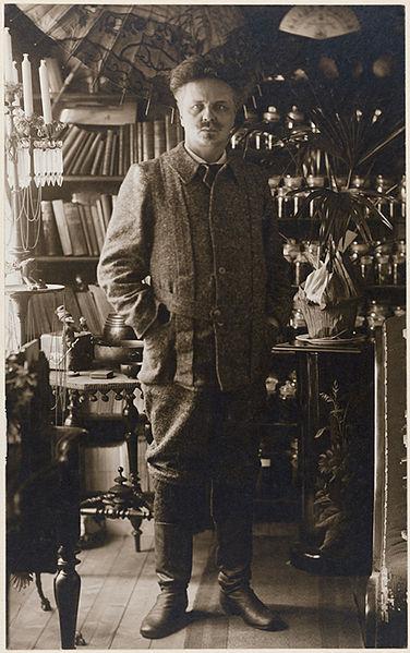 August Strindberg in 1897 (Nordic Museum, via Wikimedia)