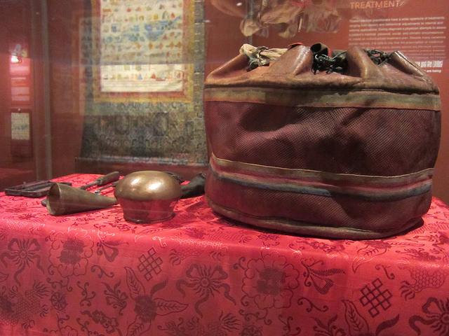 Medical instruments of a Tibetan doctor