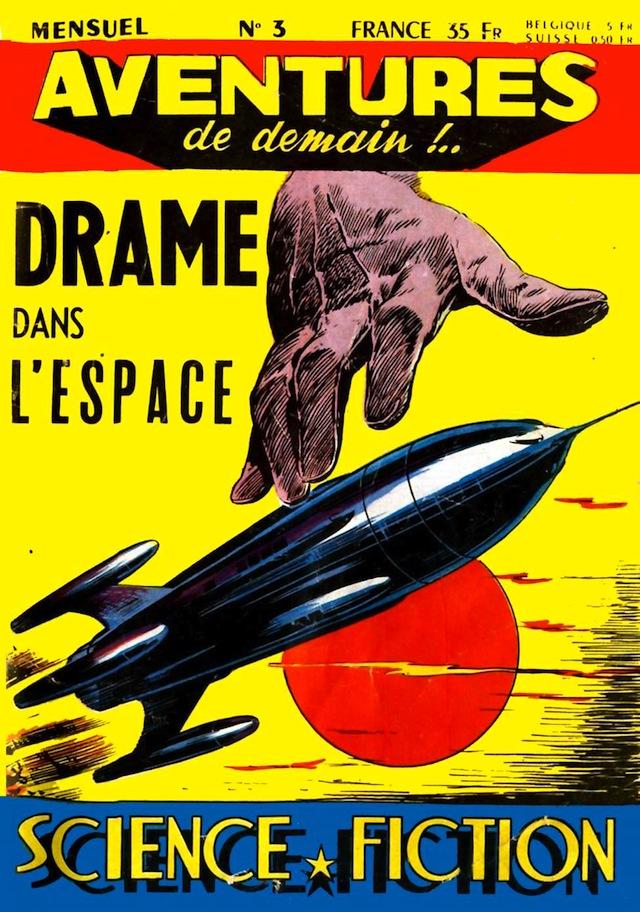 Aventures de Demain n°3 (via Comic Book Plus)