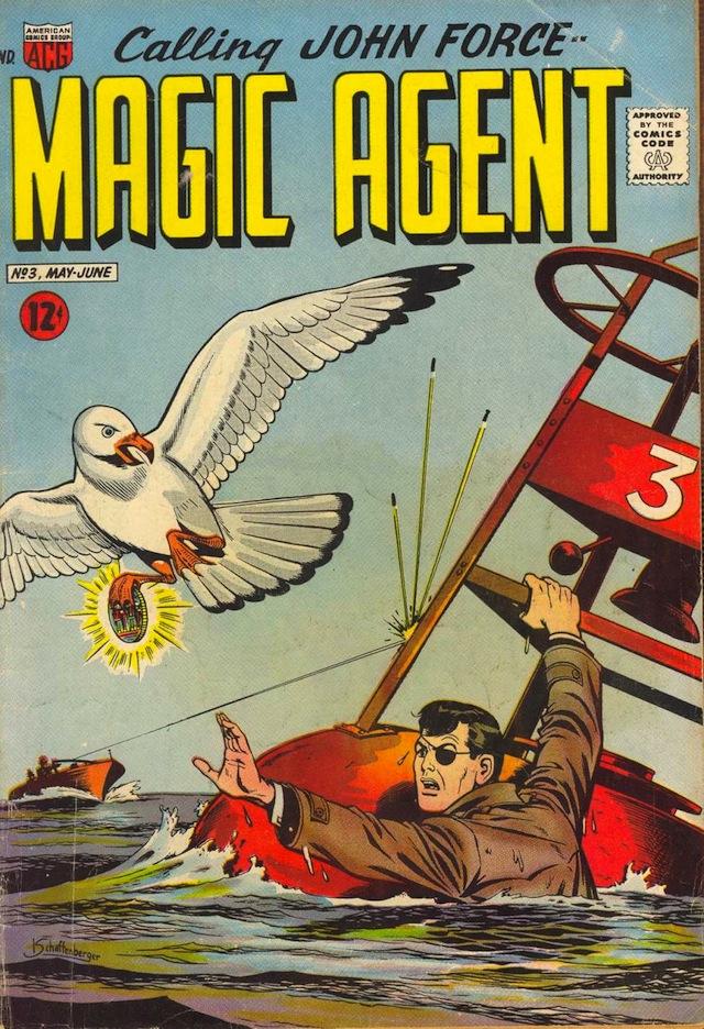 Magic Agent #3 (1962) (via Comic Book Plus)