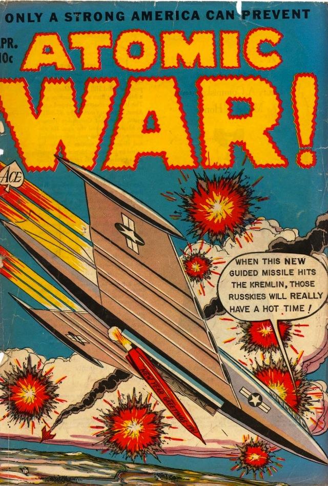 Atomic War! #4 (1953) (via Comic Book Plus)