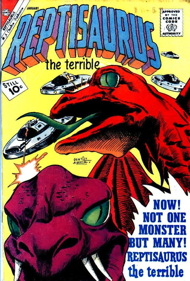 Reptisaurus v2 #3 (1962) (via Comic Book Plus)