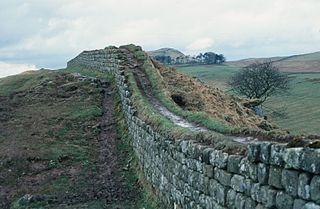Hadrian's Wall (photograph by Glenluwin/Wikimedia)