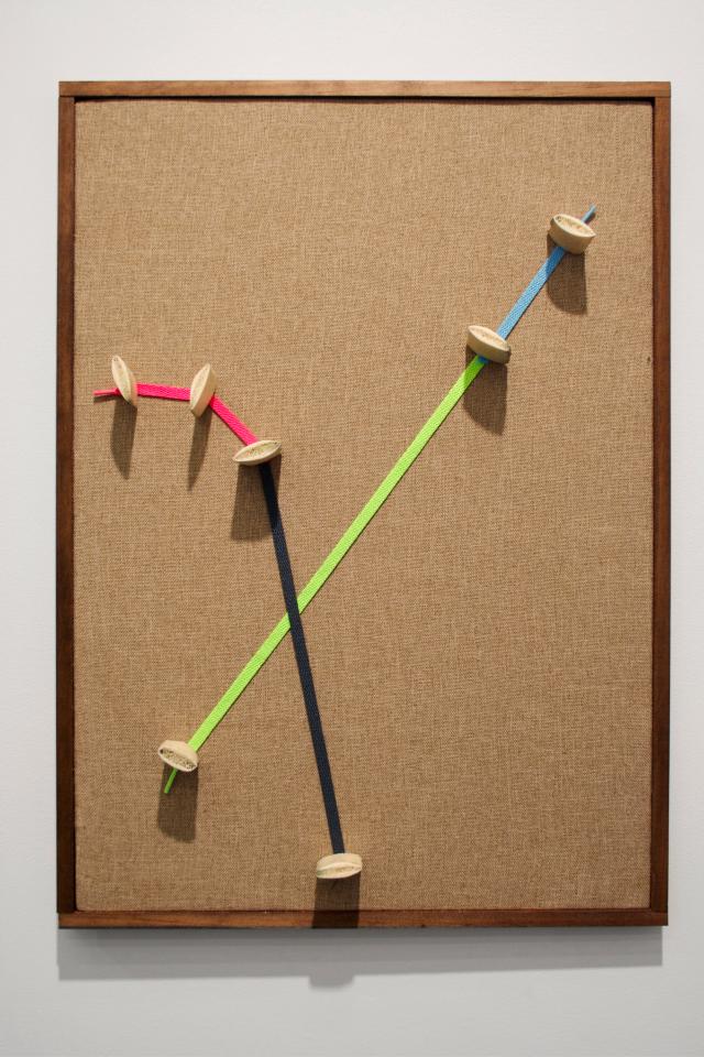 Ian Pedigo: Cosmopolitan Sleep Positions (courtesy Klaus von Nichtssagend Gallery)