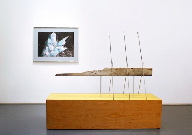Installation view, 'Ian Pedigo: Cosmopolitan Sleep Positions' at Klaus von Nichtssagend Gallery (courtesy Klaus von Nichtssagend Gallery)