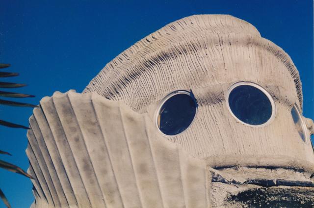 Ojo Del Sol designed by Eugene Tssui, Berkeley, California (photograph by Eugene Tssui)