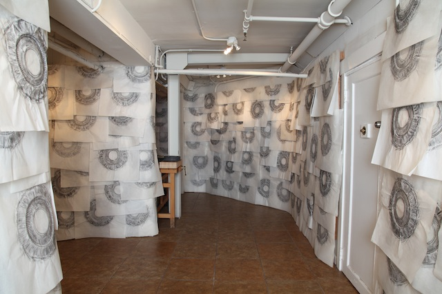 Installation view, Robin Hill at Ramon's Tailor (all images courtesy the artist)