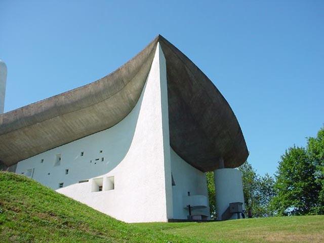 Le Corbusier Chapelle Notre Dame du Haut