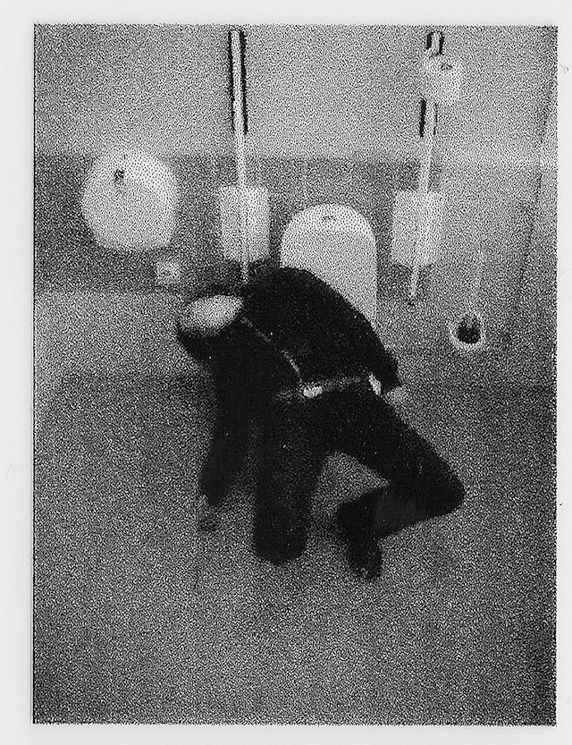 "Klara Lidén, ""Untitled (Handicap),"" 2007. Dias projection. Courtesy of the artist."