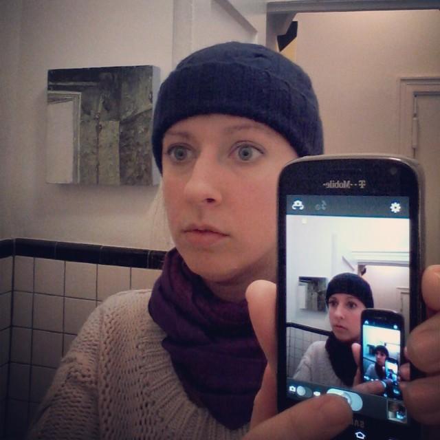 Kate McGraw's infinite bathroom selfie