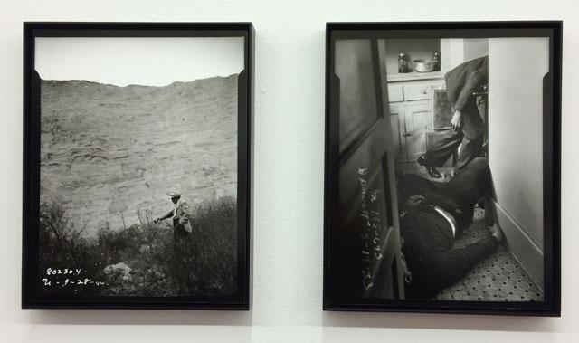 "Installation view, ""Unedited!: The LAPD Photo Archives"" at Paris Photo LA"