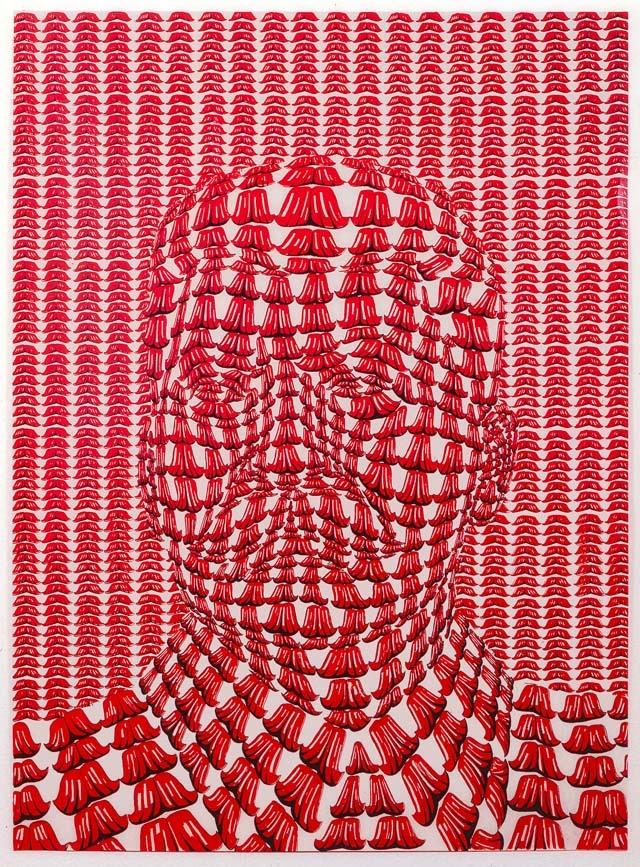Stalin (red variation) (1970)