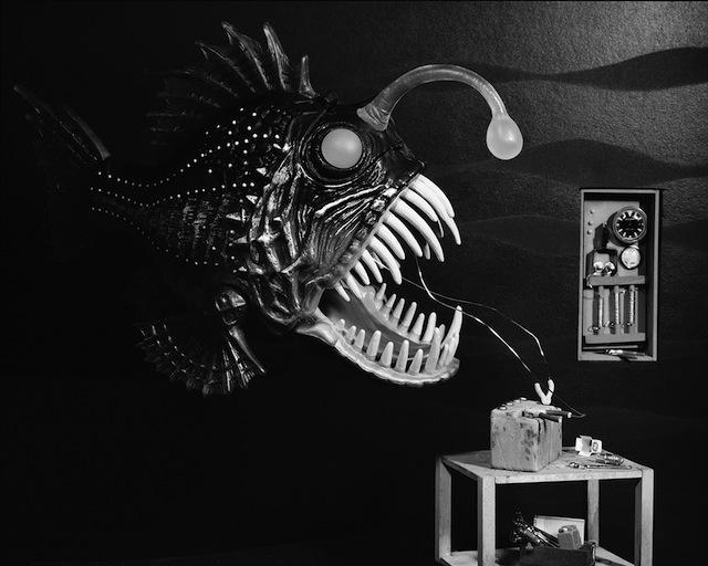 "Lori Nix, ""Angler Fish"" 2009"
