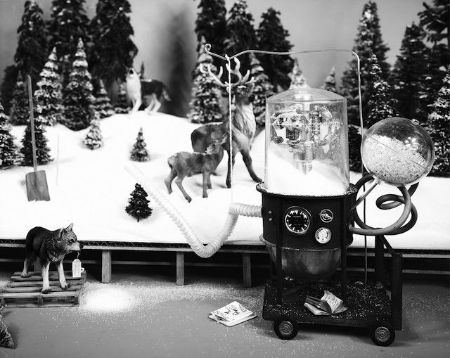 """Lori Nix, """"Snow Maker"""" 2009"""