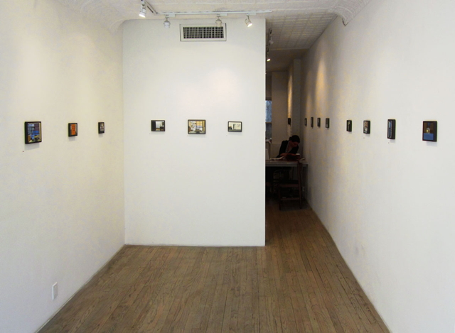 Installation view, Eleanor Ray at Steven Harvey Fine Art Projects (photo by the author for Hyperallergic) (click to enlarge)