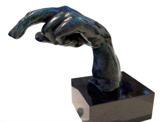 Rodin's Hands