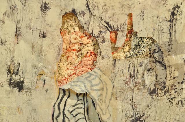 """Detail of Meg Lipke's """"Patricia Hall Revealed"""" (2014)"""