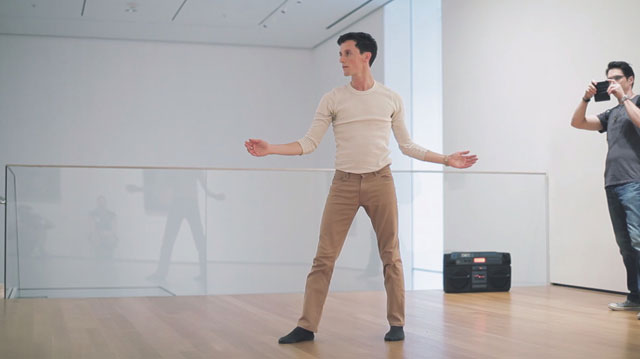"""Adam Weinert performing Ted Shawn's work for """"20 Dancers for the XX Century"""" (all images courtesy Adam Weinert unless otherwise noted)"""