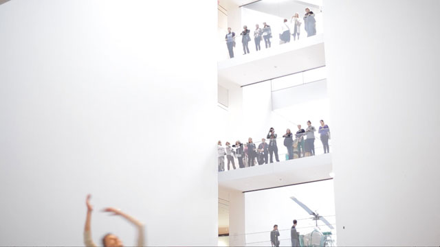 """Adam Weinert performing Ted Shawn's work for """"20 Dancers for the XX Century"""" (click to enlarge)"""