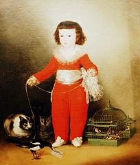 """Goya's """"Manuel Osorio Manrique de Zuñiga"""" (aka """"Boy in Red"""") (1784–1792) (via LWYang's Flickstream)"""