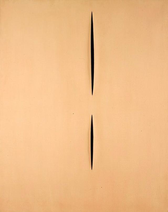 _Concetto spaziale, Attese (Concept spatial, Attentes)_ (1959)