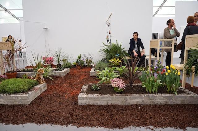 Ariel Reichman's garden installation at PSM
