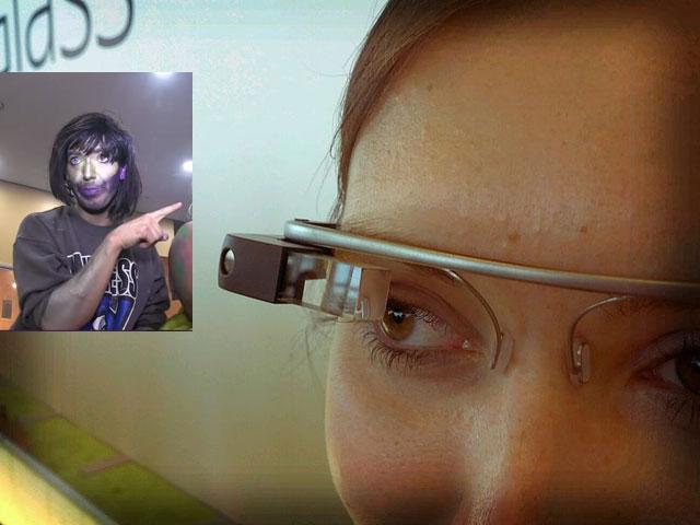 Google Glass meets Ryan Trecartin.