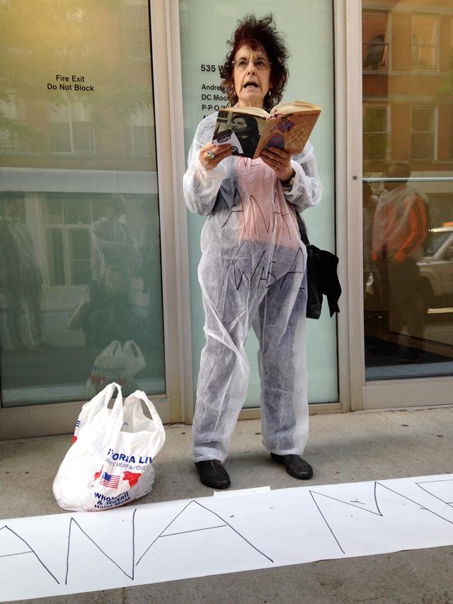 Karen Malpede reading from Christa Wolf's 'Cassandra'