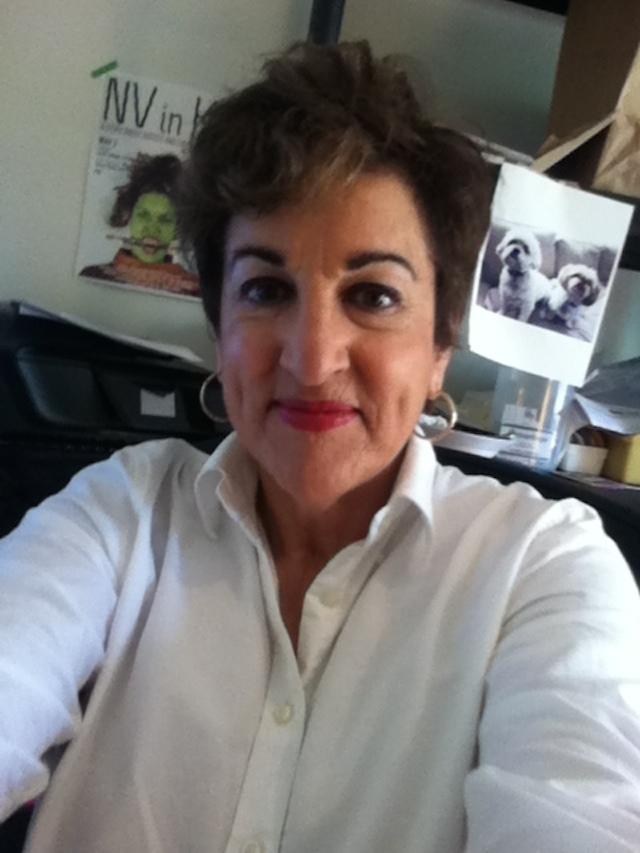 Judith G. Levy's selfie