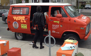 Post image for Social Practice for Domestic Workers: The NannyVan