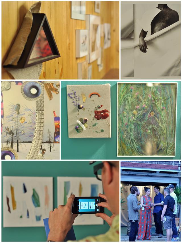 Clockwise from top left: Ellen Lechter's