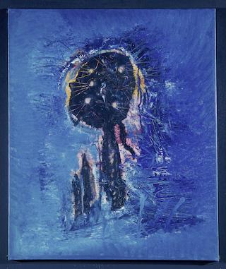 Museum Ludwig, ML, Wols, Le fantôme bleu, ML 10015