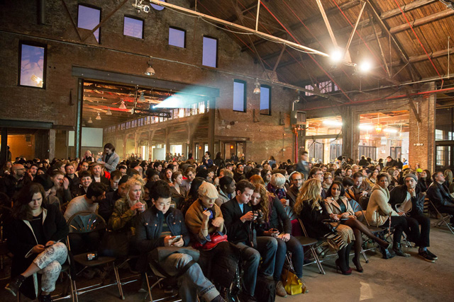 A view of the packed house during Friday night's The Lost Lectures NY ( Tod Seelie)