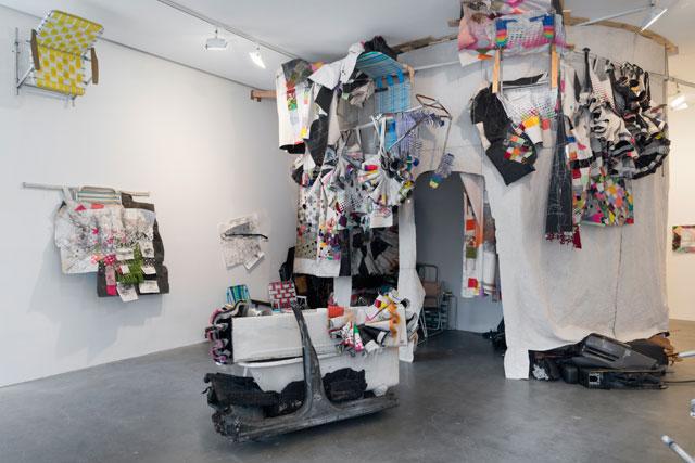 Installation view, Greg Smith at Susan Inglett gallery (all images courtesy Susan Inglett gallery)